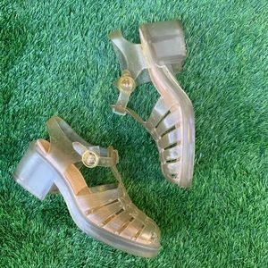 Vintage Guess 90's Jellies Size 8